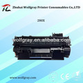 Laser toner for HP 280x toner cartridges in zhuhai