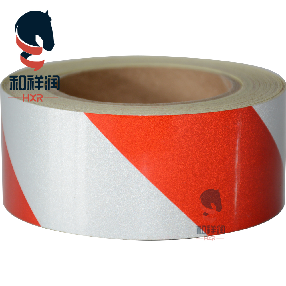 advertisement grade two colors safety reflective tape