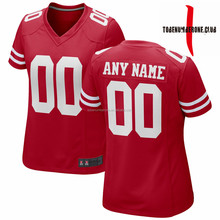Full Sublimation Football Wear Wholesale Logo Name Number Custom Red Soccer Jersey