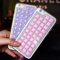 Wholesale Phone Case for iPhone 6 plus Full Bling Rhinestone Diamond Cellphone Cover Case