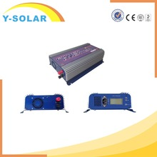 Y-SOLAR YS-1500G-LCD-110V High Frequency 1500w DC to AC Inverter 3 Phase Grid tie Inverter with Battery Charger