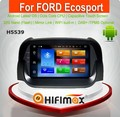 Hifimax Android 6.0 gps navigation for ford ecosport car dvd radio player for FORD ECOSPORT 2013 touch screen dvd player 8 core
