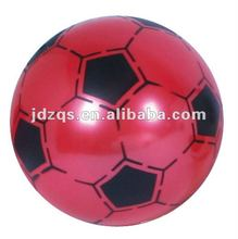 soccer football/pvc-plastic inflatable toy football