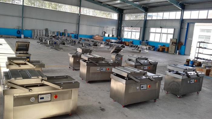 LCD control system single chamber vacuum packing machine for food commercial