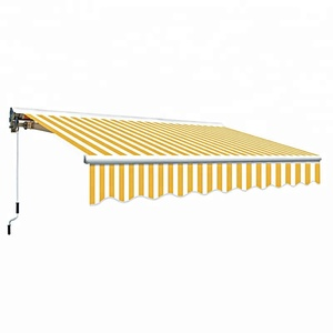 Aluminum outdoor garden retractable balcony awning