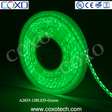 China Shenzhen SMD 2835 IP65 Green Waterproof Led Strip Rope Lighting