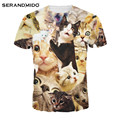 New Pattern Funny T-shirts Hiphop Punk Rock Delicious 3D T Shirt