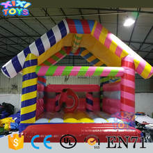 Large inflatable bouncy castle / Colorful inflatable jumping bouncer for kids