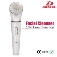 Facial Cleasing Brush, Massager, Callus remover, lady epilator, shaver 5 in 1 Beauty Too Kit(KEDA 199)