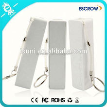 Latest design white perfume 2600mah power bank of innovative products from market