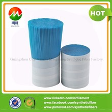 0.15MM High pick Hollow tapered nylon brush filament
