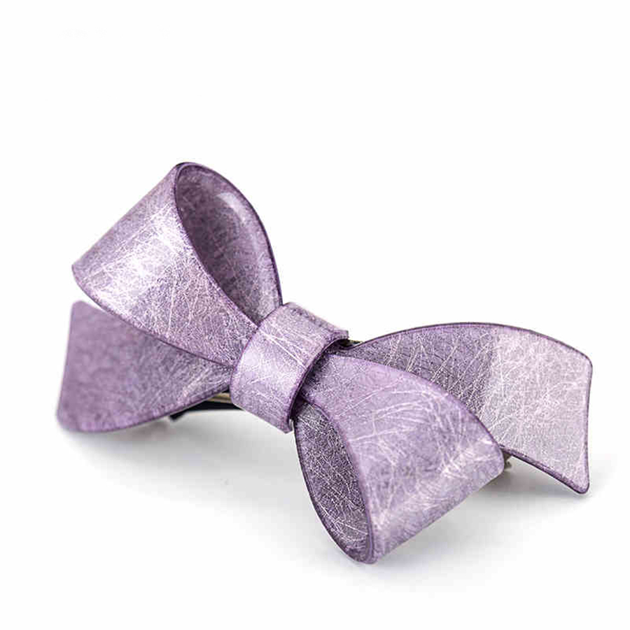 wholesale factory handmade chaplet bowknot barrette in china