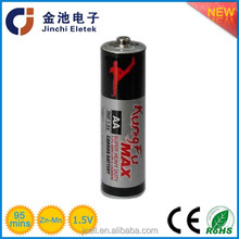 r6 battery 1.5v aa r6 sum3 carbon zinc battery for toy watch