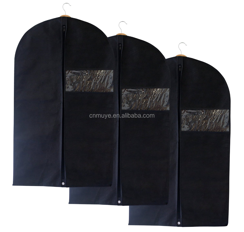 Design best sell eco tote suit garment bags