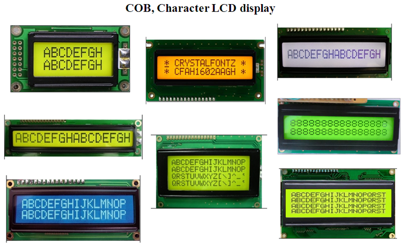 monochrome lcd STN type 128x32 graphic display