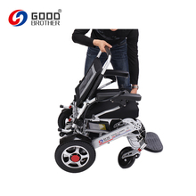 Portable Adjustable Height Foldable Electric Wheelchair
