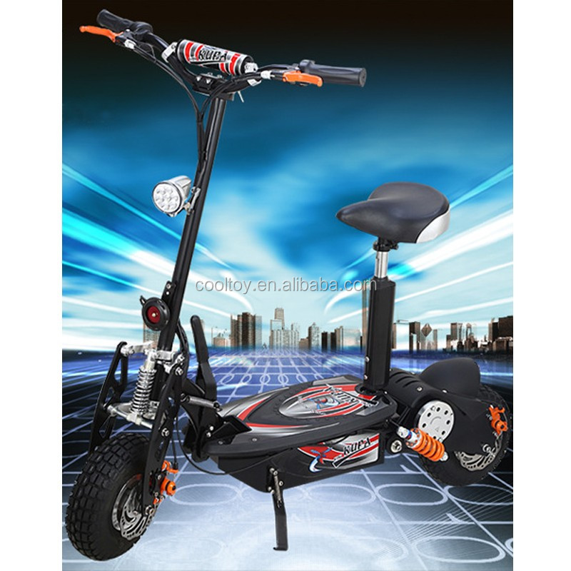 1500W 48V Brushless 2 Wheel Foldbal Electric Scooter with 12inch Wheel