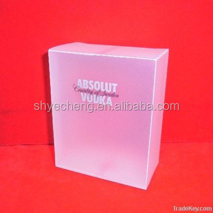eco recyclable pvc clear plastic coin box manufacturer and exporter