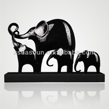 hand carved elephants indian brass animal figurines large indoor sculptures