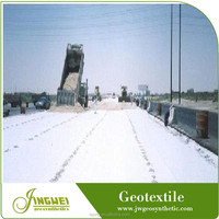 Good water flow-rate chemical resistant nonwoven geotextile PP filter fabric
