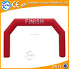 Simple red inflatable finish line arch, cheap arch inflatable