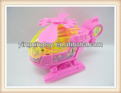 promotional plastic pull string plane toy for kids