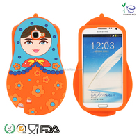 factory selling russian doll custom silicone phone case for phone6