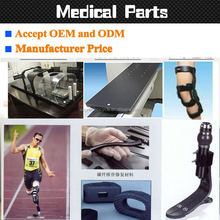 Orthotic prosthetic implants carbon fiber foot or prosthetic leg and high quality artificial leg or artificial limb