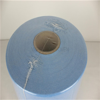cellulose/polyester nonwoven spunlace car cleaning wiper roll