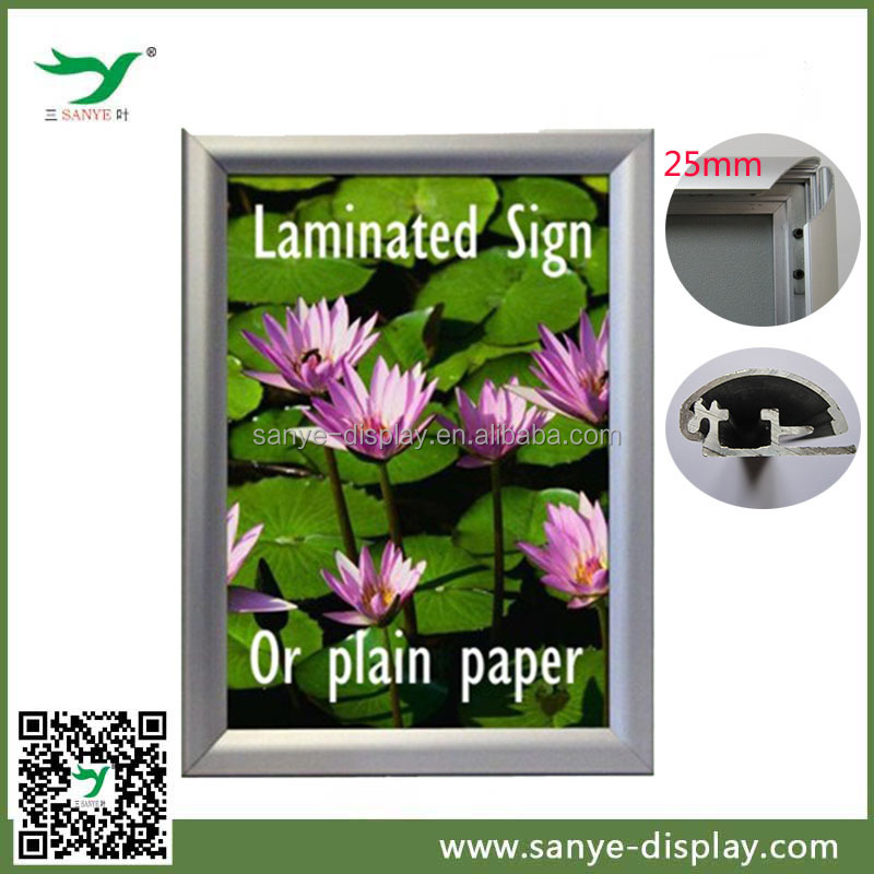 aluminum hot sell picture frame for magazines