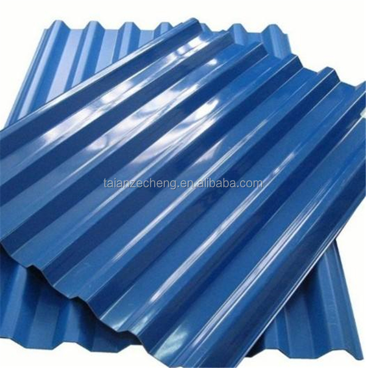 long span color coated PP prepainted corrugated roofing sheet