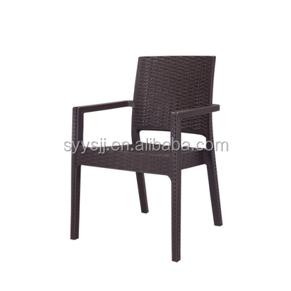 Northern europe style art deco modern high back dining chairs