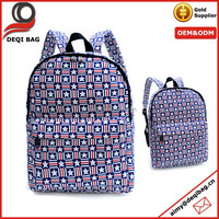 Wholesale Canvas Backpack Personalized Fashion Stars School Bag