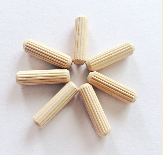Wood dowel pins furniture parts