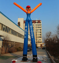 Outdoor advertising inflatable air dancer for sale