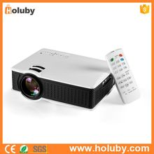 White 1500 High Lumen Multimedia Compatible HD 1080P 60W 110-240V LCD Mini Projector