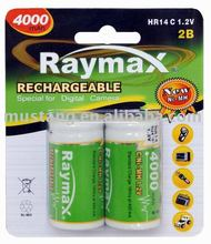 HR14 rechargeabale battery