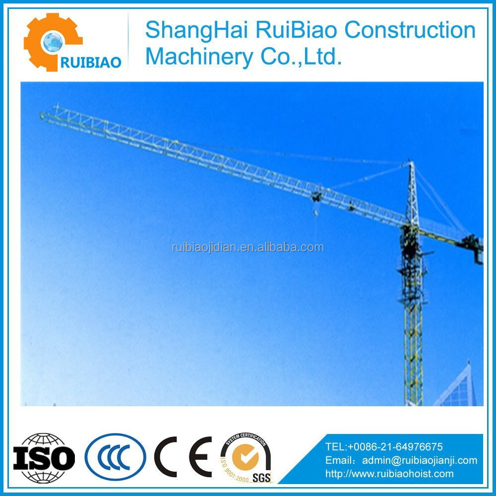 QTZ series spare parts for self raising tower cranes