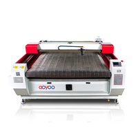Factory direct high quality JINAN aoyoo laser cutting machine for embroidery applique