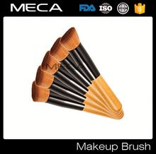 custome logo makeup brushes Professional Make up essential angle foundation contour brush