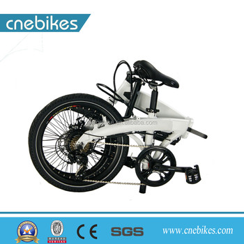 Convenient folding city type 20inch mini foldable electric bicycle bike wholesale