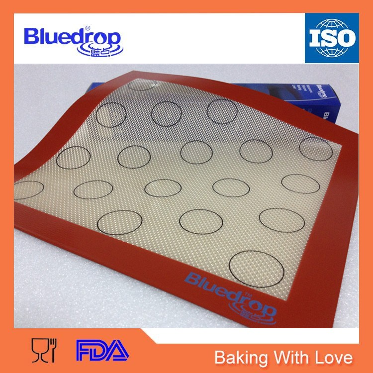 Non stick silicone fondant working mat