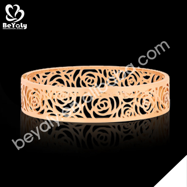 Trendy gold engraved fashion bracelets websites that sell jewelry