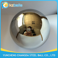 polished 2 3 4 5 6 inch stainless steel hollow ball