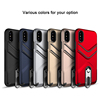 Popular 360 Rotating Metal Kickstand Phone Case Mobile Phone Accessory For iPhone X With Strap