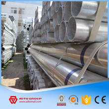 1.5 inch schedule 45 tensile strength galvanized steel pipe