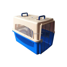 Five Size Pet Dog Air Carrier Blue Yellow Black Red Rose Color for Choose Pet Products Wholesale Plastic Pet Cage Cat Cage AC016