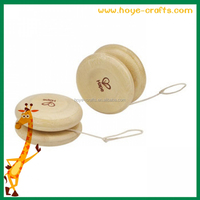 wholesale Mini Wooden laser logo Yoyo