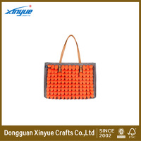Fashion laser cutting customized felt bag pattern for gift and promotion