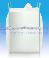 1 ton big bag with double filler cord/ 1 ton container bag